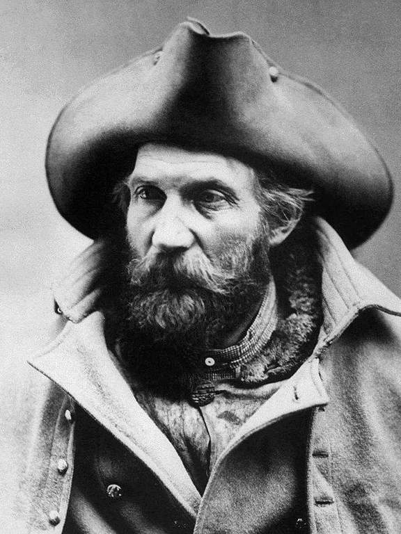 Harry Yount (* 1837; † 1924), auch bekannt als Rocky Mountain Harry, gilt als erster Ranger des Yellowstone-Nationalparkes in den USA. (Quelle: www.wikipedia.de) | © www.wikipedia.de